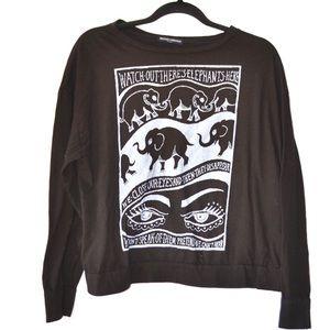 ••brandy melville elephants long sleeve••